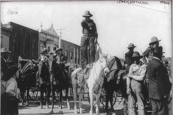 Cowboy-in-Newton-Kansas
