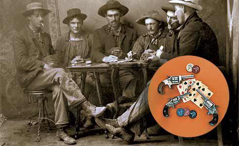 group-of-men-posing-for-gambling-shot-in-Eureka-South-Dakota-studio-portrait-circa-1890-1900-by-Fallman,-listed-as-working-in-Eureka-in-1890_diminutive-sidearms