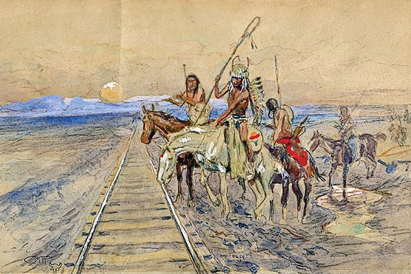 CTW_Charles-Russell_Trail-of-the-iron-horse