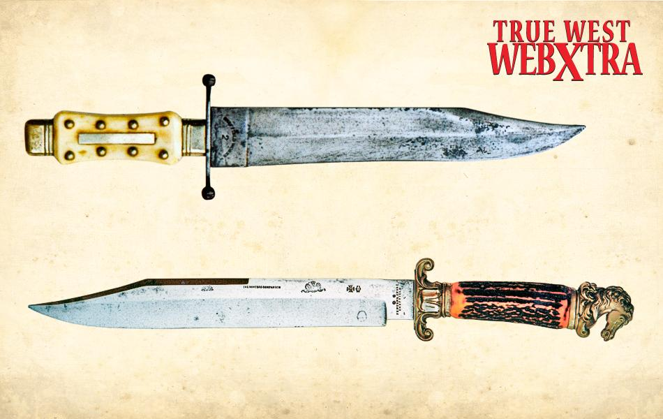 bowie knife fighting blades of the frontier true west magazine