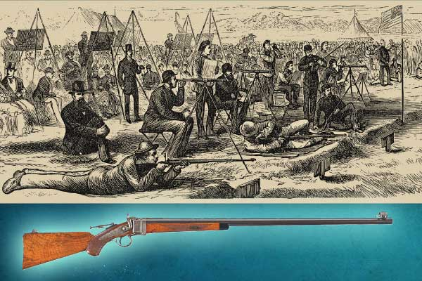 Rifle-Match-between-the-Irish-and-the-American-teams_Sharps_s-M-1877_English-Model