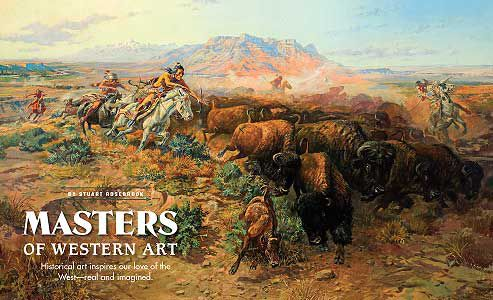 The-Buffalo-Hunt_Charles-M-Russell.