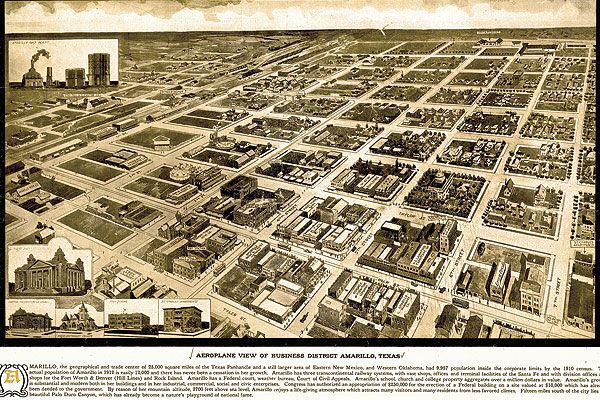 Amarillo-tx_old-city-ariel-map