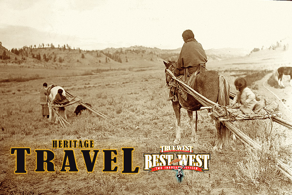 Cheyenne-women-annd-children-moving-across-the-plain