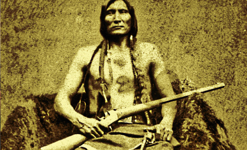 Weapons of the Indian Wars-Touch-The-Clouds_Lakota-Leader