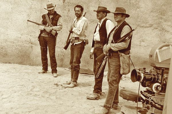 The-Wild-Bunch--Ben-Johnson--Warren-Oates--William-Holden--Ernest-Borgnine--Sam-Peckinpah