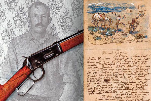 Tom Horns gun-Charlie Russell letter
