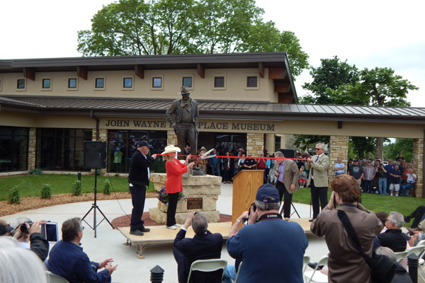 john-wayne-birthplace-museum-ribbon-cutting-copyright-stuart-rosebrook-blog