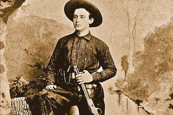 Circa 1880s cowhand in Sherman TX