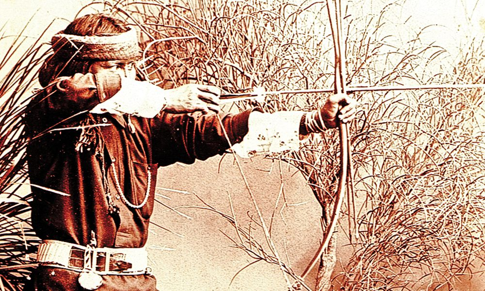 Fort Apache Indain with bow