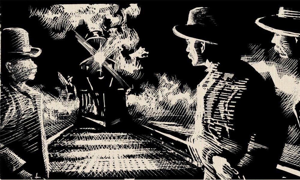 Wyatt Earp Stops a Train