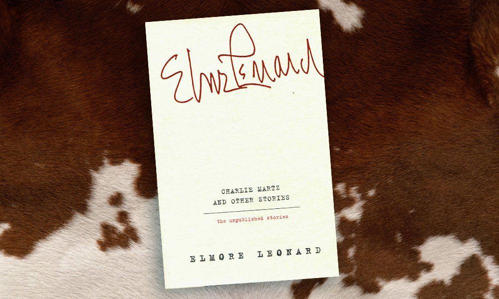 Elmore Leonard book cover