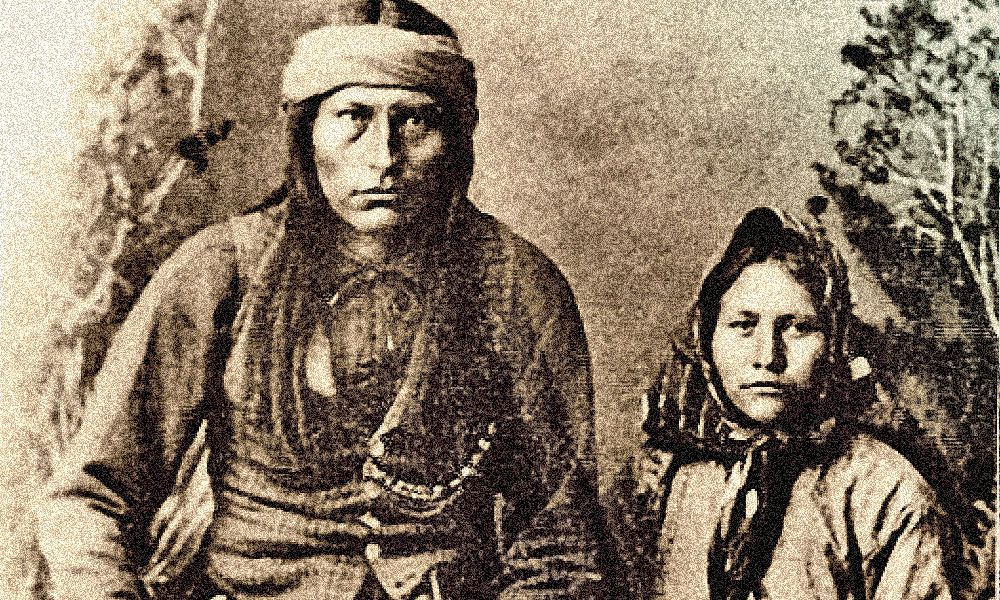 Naiche, chief of the Apaches