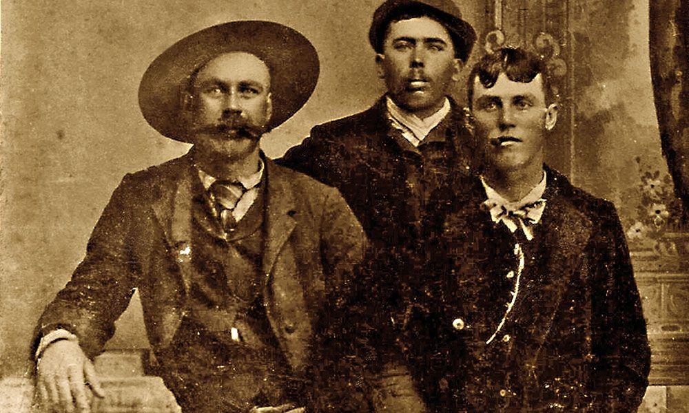 Henry C. Goodman, Gus Heffron and Davy Crockett