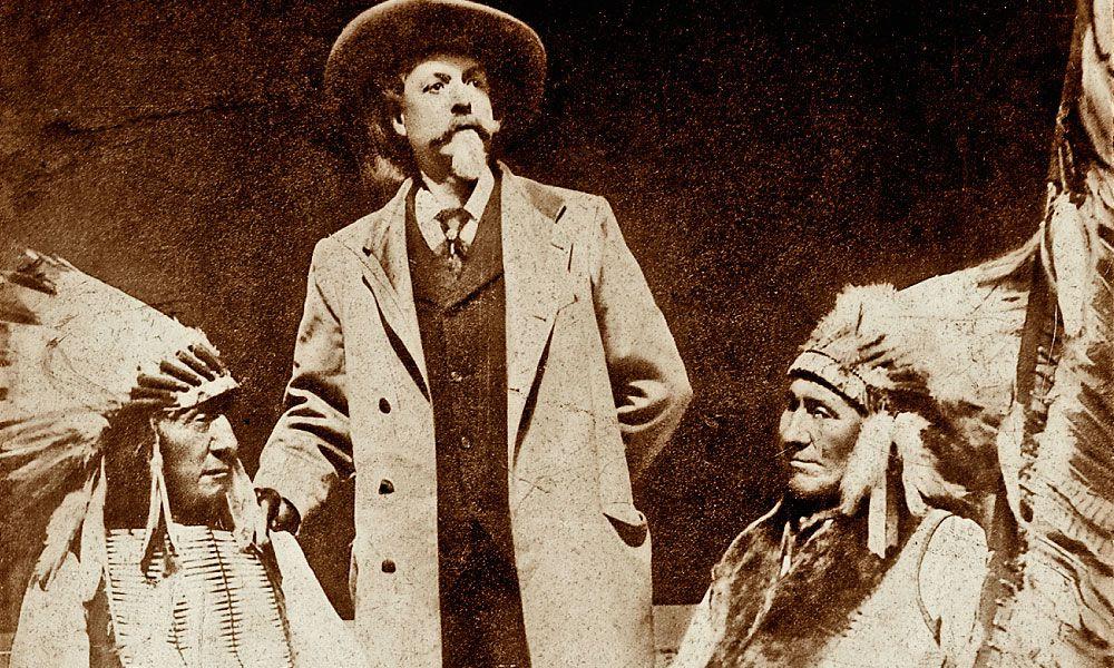 Ogalala Lakota Leaders Red Cloud and American Horse with Buffalo Bill Cody