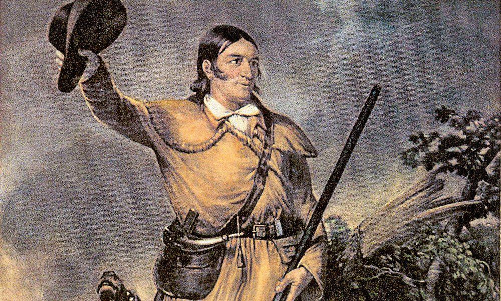 Davy Crockett Flintlock