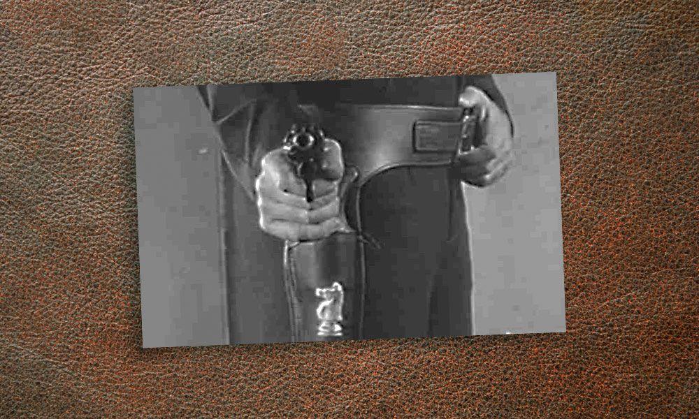 Old West Cowboy Gun