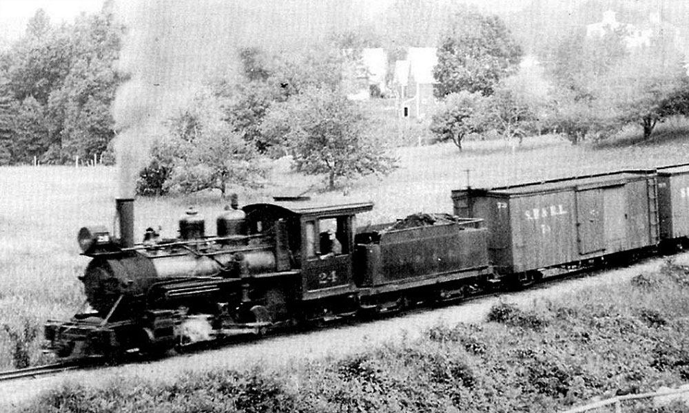 Narrow Gauge railroad train
