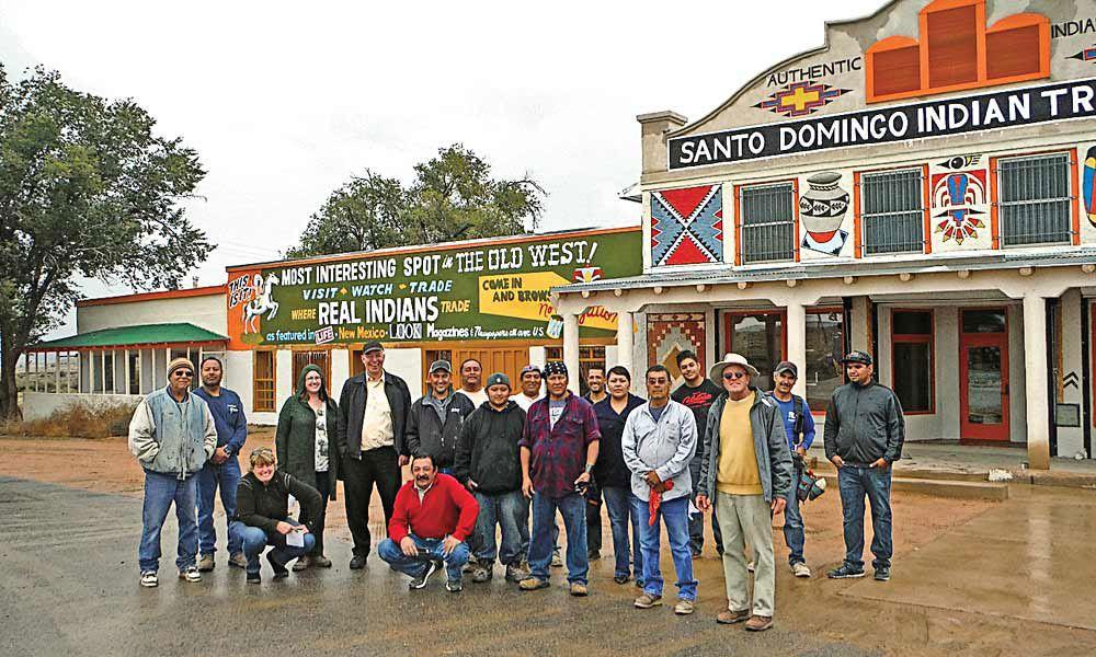 Members of the Santo Domingo Pueblo