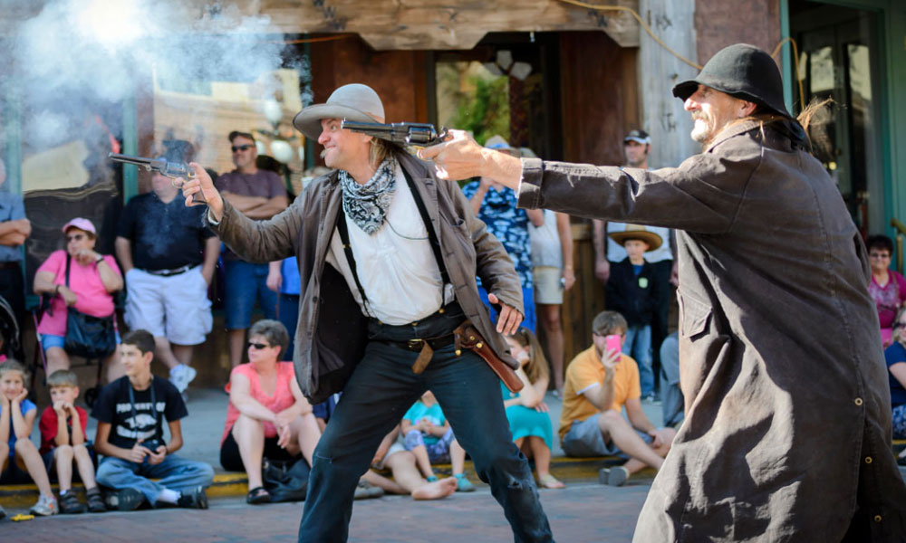 Deadwood Renactment