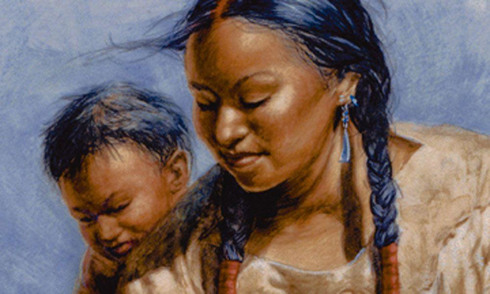 Sacagawea and Pomp