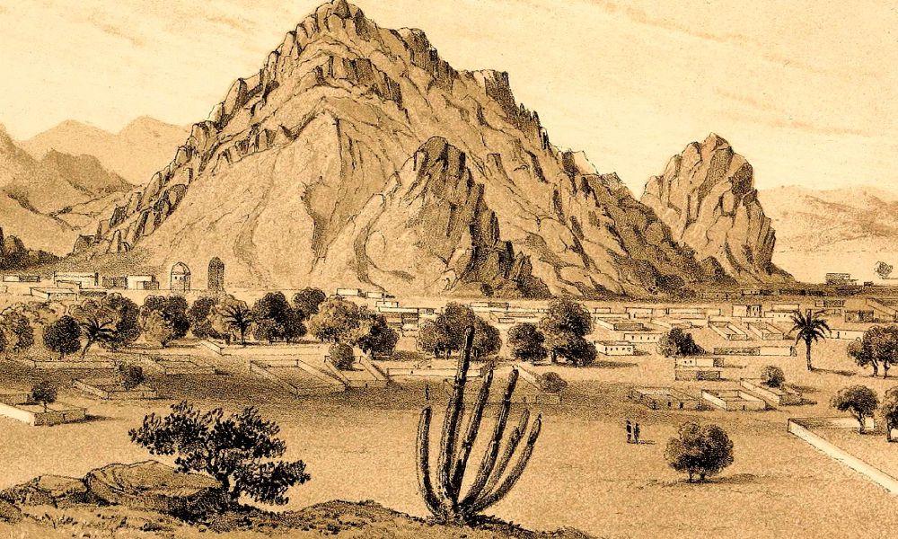 Illustration of Desert Landscape