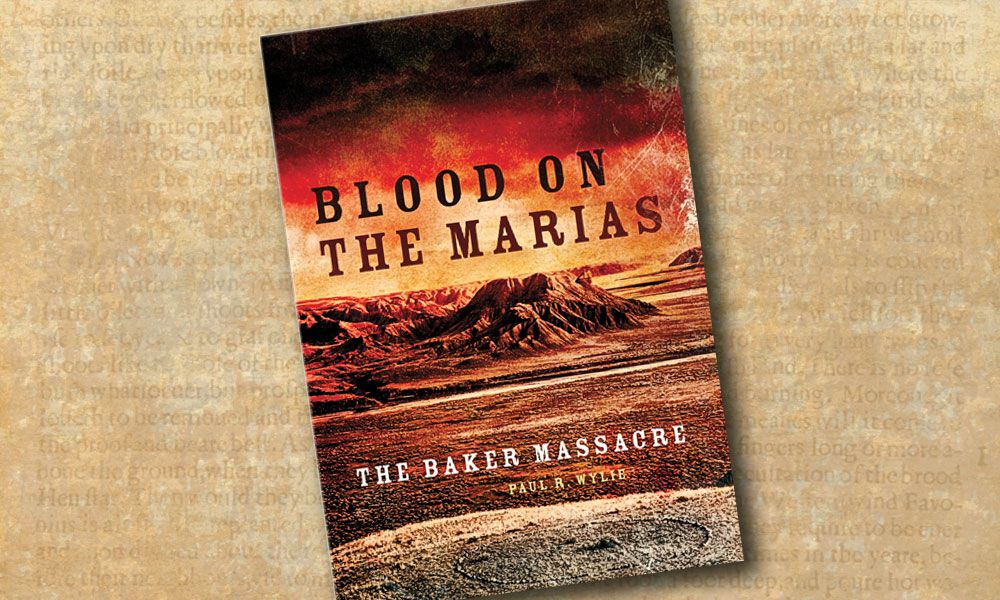 Blood on the Marias -book cover