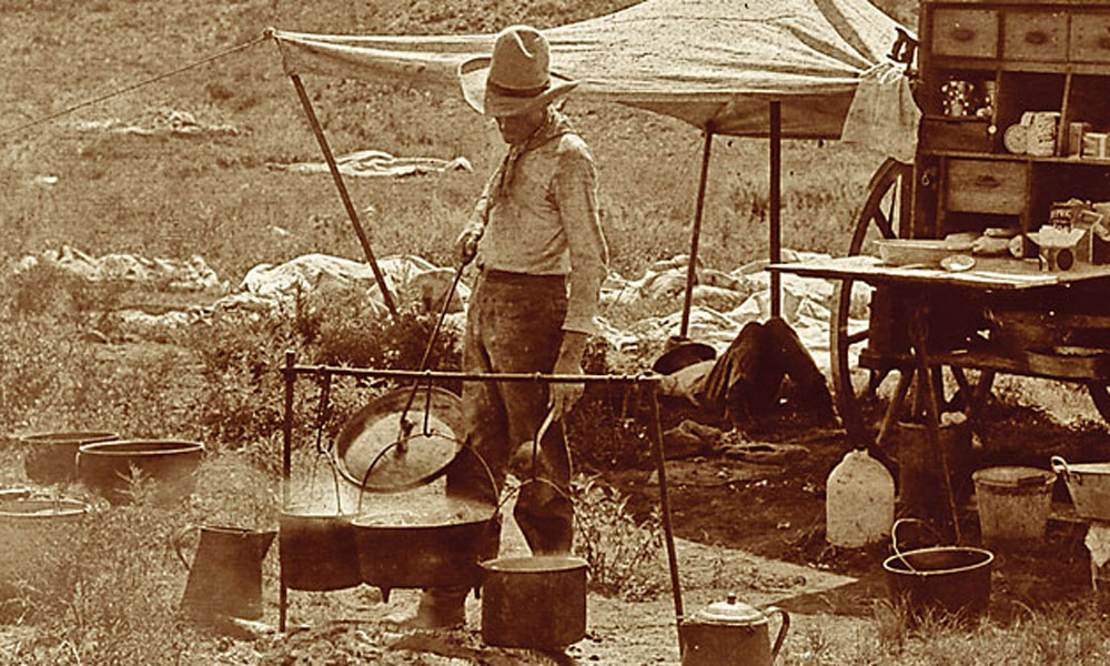Picture of a Cowboy Cook