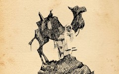 Illustration of Hi Jolly by Bob Boze Bell
