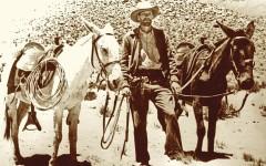 Dan Thrapp Mules true west