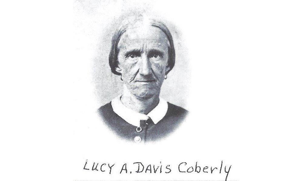 Lucy Davis Maggard Coberly true west