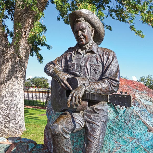 rex allen statue true west