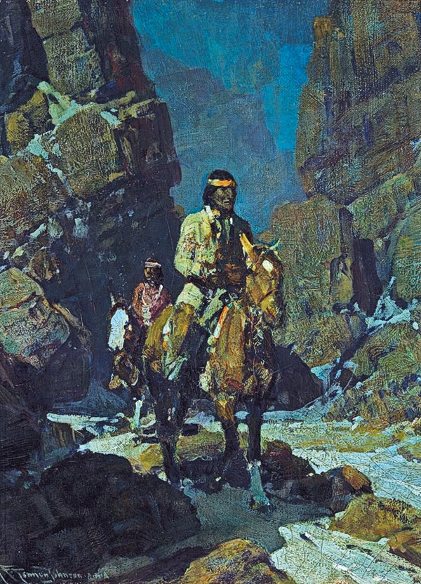 Frank Tenney Johsnon true west