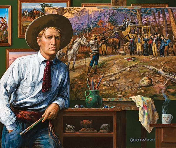Jenness cortez painting true west