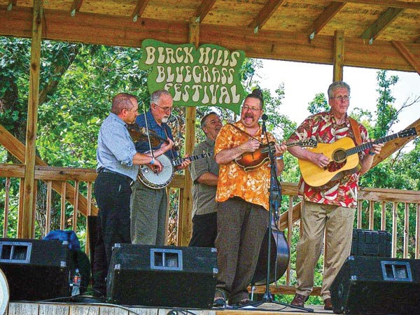Black Hills Bluegrass Festival true west