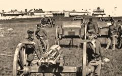 Gatling gun custer true west