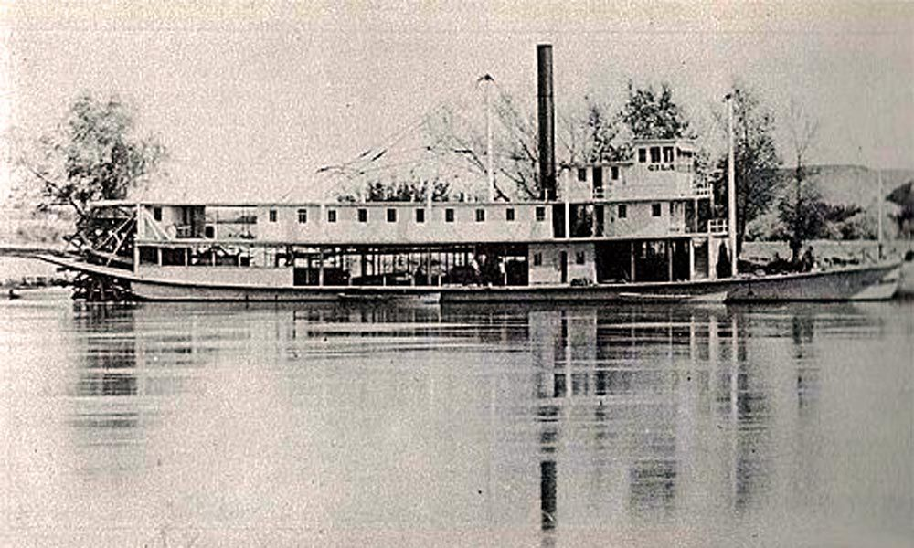 gila steamboat 1873 yuma crossing arizona true west