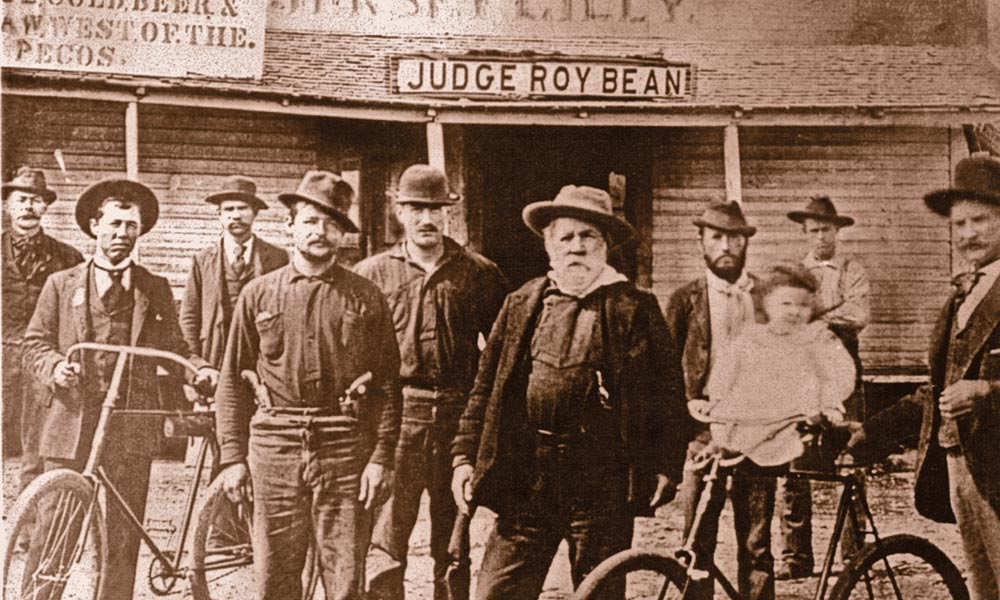judge roy bean true west