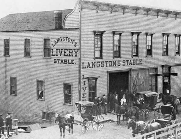 livery stable true west
