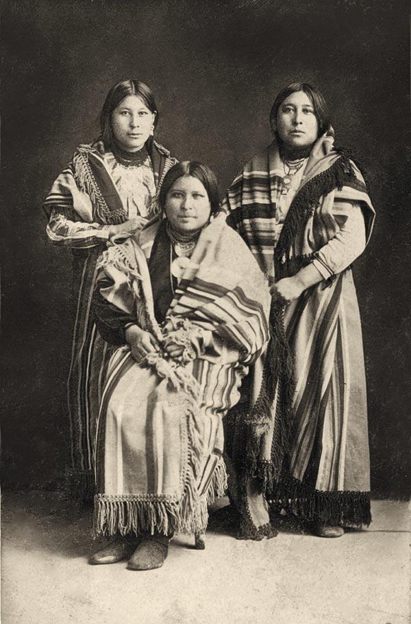 osage women true west