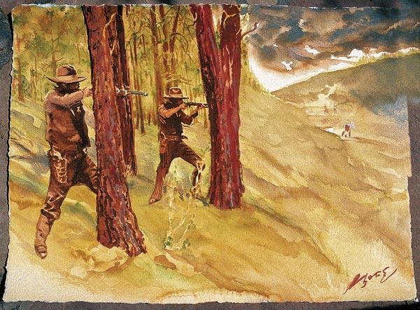 posse ambush gunfight true west