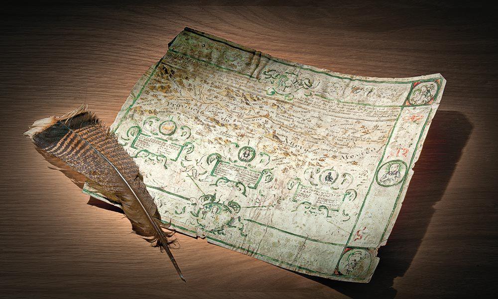 maps true west
