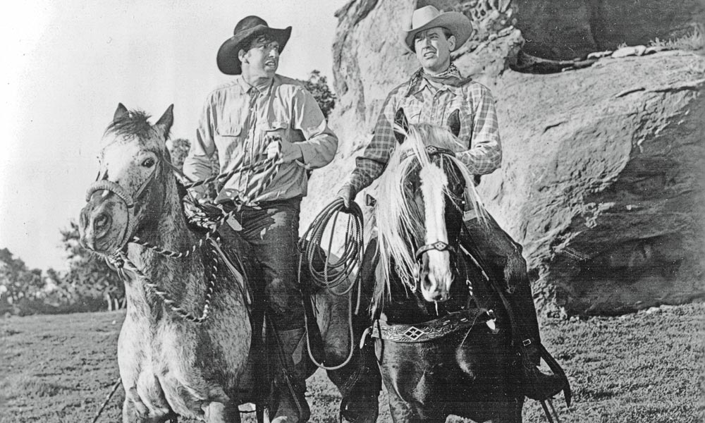 Slim Pickens Rex Allen true west