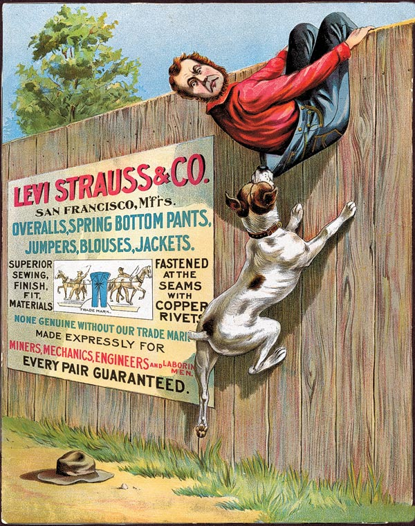 levi strauss co advertisement true west