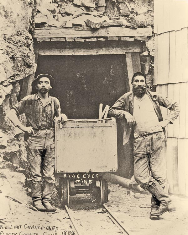 miners in levi strauss jeans true west