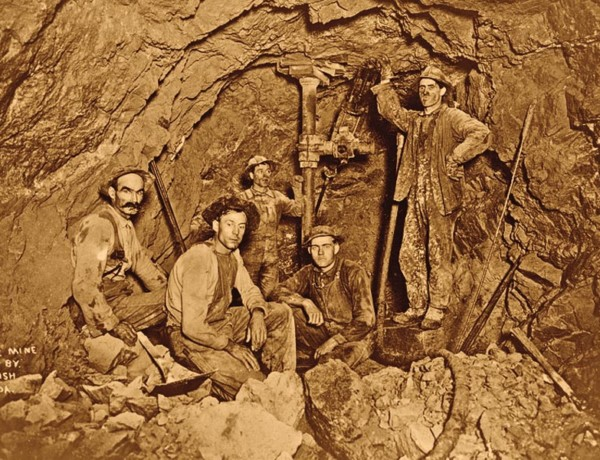 underground miners wallace idaho true west