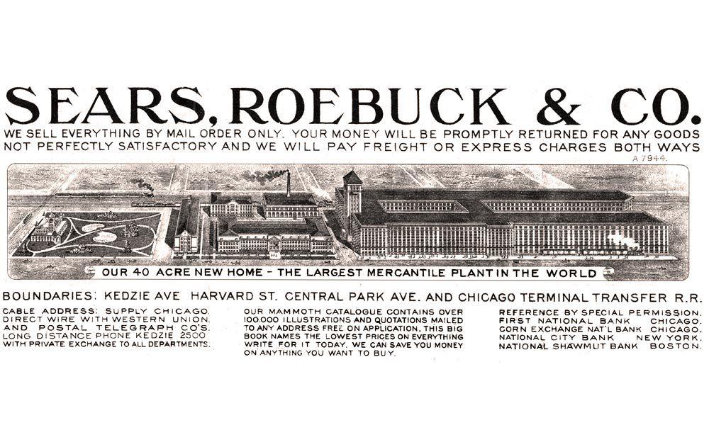 Sears Roebuck true west