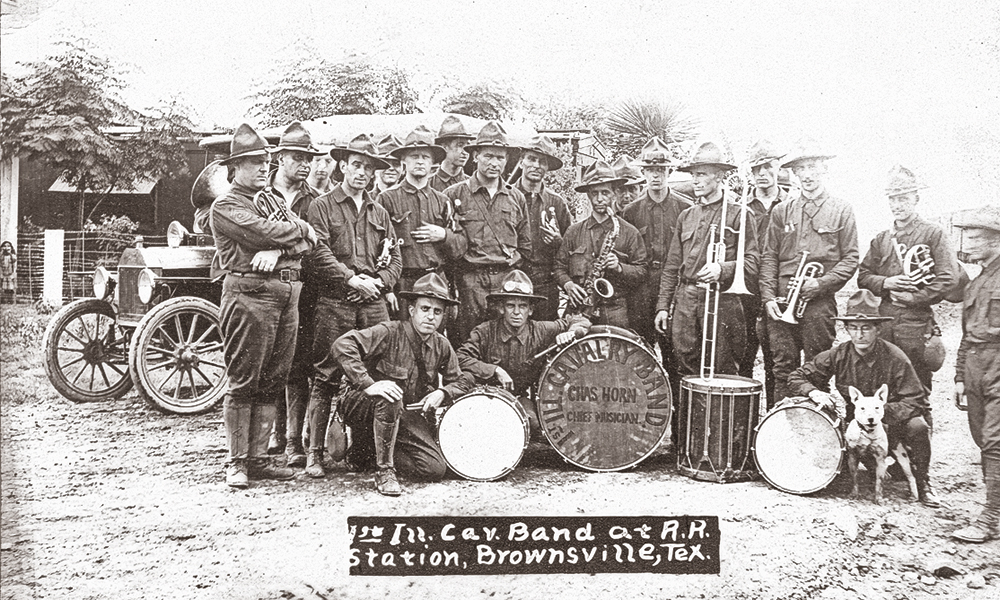 illinois cavalry band brownsville true west
