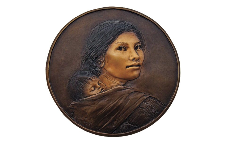 Sacagawea Coin Glenna Goodacre true west