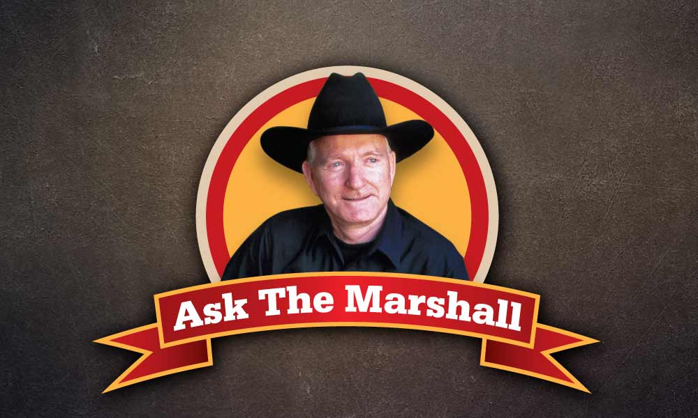 Clint Eastwood ask the marshall true west